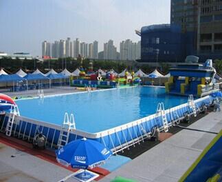 移動式支架遊泳池