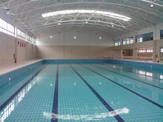 湖北監利室內恒溫遊泳池竣工圖片