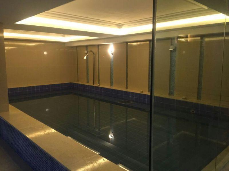 遊泳池工程案例-湖北省麻城市室內遊泳池