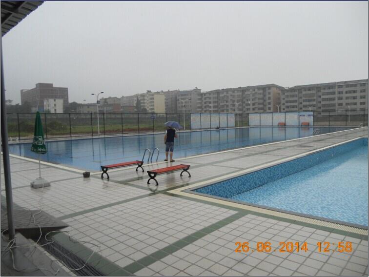 星子三中雙瀅遊泳池竣工圖