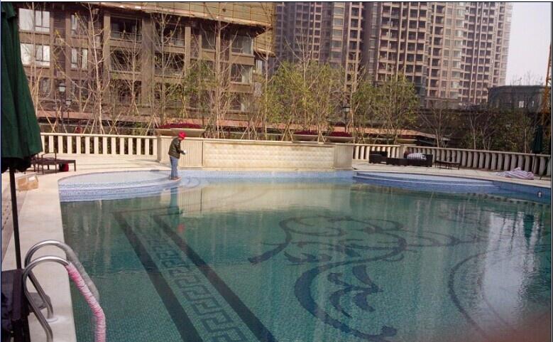 南昌國貿地產陽光遊泳池竣工圖片