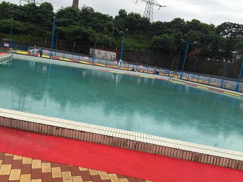 九江二電廠遊泳池竣工
