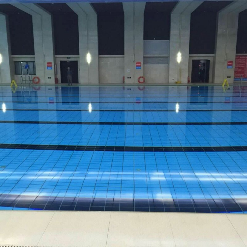 遊泳池工程案例-江西省九江市白鹿奧體室內